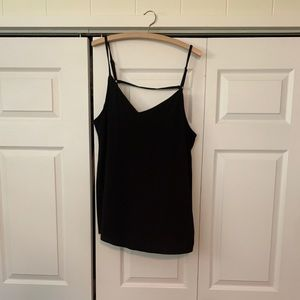 Torrid Black Cami Tank with Adjustable Str…